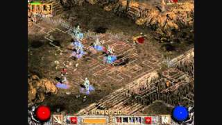 Diablo 2 Gameplay  Act 5 Quest 1: Siege on Harrogath