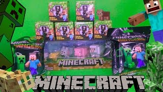 15 Minecraft toys unboxing! Mini-Figure! No replays! by TheSurpriseEggs