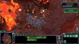 Starcraft 2 Wings of Liberty Campaign  Brutal Final Mission (25) All In!