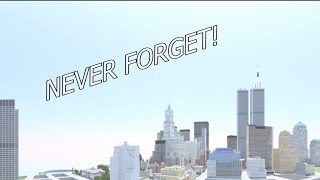 Minecraft September 11 Never Forget (Story of Twin Towers) | Майнкрафт Памяти 11 Сентября 2001
