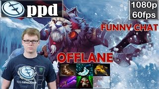 ppd (EG) - Tusk Offlane with Funny CHAT | Dota 2 Pro MMR Gameplay
