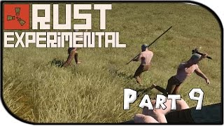 Rust Experimental Gameplay Part 9 - Meeting the Neighbors...