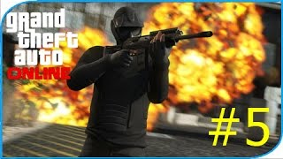 Gta 5 Online(Стрельба) -STUNTERS vs RPG #5 PS4