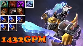 Dota 2 - Patch 6.85 : Alchemist 1432GPM Aghanim's Scepter for ALL TEAM! - Ranked Match Gameplay