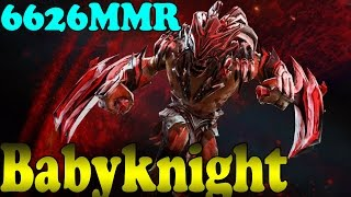 Dota 2 - BabyKnight 6626 MMR Plays Bloodseeker Vol 1# - Ranked Match Gameplay!