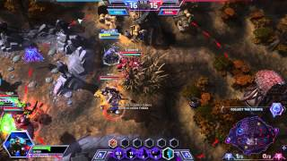 Heroes Of The Storm Gameplay - Brightwing