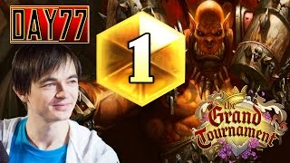 Kolento: TGT [Day 77] Rank 1 Legend with Control Warrior - S20
