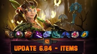 Dota 2 Items - Gameplay update 6.84
