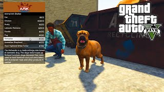 GTA 5 PC Mods - ANIMAL PET SHOP MOD!!! - GTA 5 Pet Mod w/ Wildlife Bodyguard Pets!