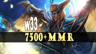 w33 Skywrath Mage 7500 MMR gameplay compilation Dota 2