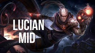 League of Legends - Hired Gun Lucian Mid - Full Game Commentary