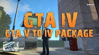 GTA V to IV Package [Tutorial | deutsch]