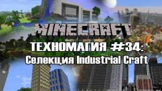 Техномагия #34: Селекция Industrial Craft