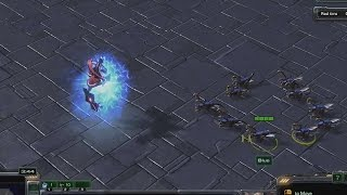 1 Archon vs 10 Zerglings | StarCraft 2