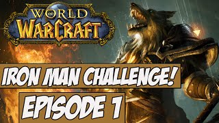 World Of Warcraft: Iron Man Challenge! Ep.1 w/Angel - The Rules!