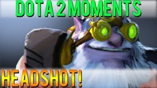 Dota 2 Moments - Headshot!