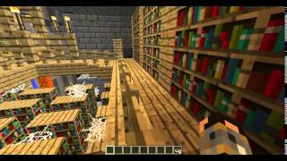 Ключи для Minecraft #4 Библиотека Алмазы   Keys for Minecraft # 4 Library   Diamonds