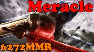 Dota 2 - Meracle 6272 MMR Plays Juggernaut - Ranked Match Gameplay