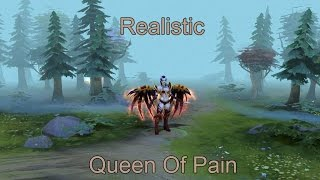 [DotaMod] Realistic Queen Of Pain Dota 2 / Реалистичная Акаша