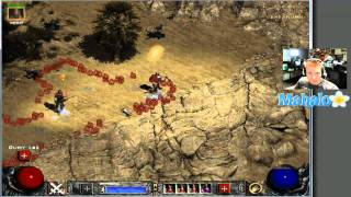 Diablo 2 Lord of Destruction - Paladin Walkthrough - Act 2.6 - Far Oasis