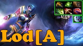 Dota 2 - Lod[A] Plays Templar Assassin - Ranked Match Gameplay