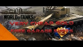 World of Tanks Xbox 360 Edition - Free Gold and Silver Exploit + Free Garage Slots