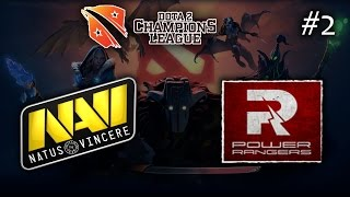 Na`Vi vs Power Rangers #2 | D2CL S5 (04.03.2015) Dota 2