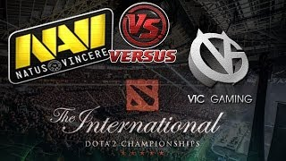 NaVi vs VG bo1 International 2014 Dota 2 #ti4 RUS