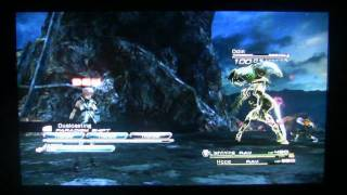 Final Fantasy XIII - Defeating Odin (The Easy Way)