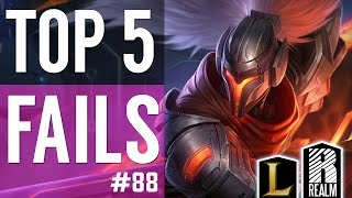® Top 5 LoL Fails | Episode 88 (League of Legends)