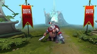 The Frostiron Raider Tusk custom animation preview Dota 2