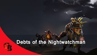 Dota 2: Store - Bristleback - Debts of the Nightwatchman