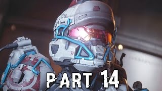 Halo 5 Guardians Walkthrough Gameplay Part 14 - Battle of Sunaion - Campaign Mission 12 (Xbox One)