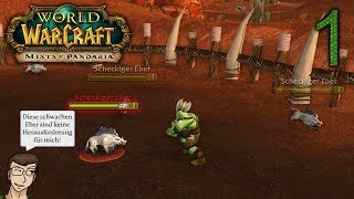 Let's Play World of Warcraft - Folge 1: Ein stolzer Orc namens Gorrak (Deutsch, WQHD)