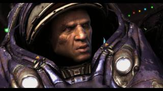 StarCraft 2: Tychus Findlay Backstory and Talk in 1080p