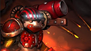 Dota 2 Clockwerk - Mortar Forge - Hero's Heirloom