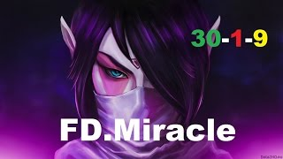 FD.Miracle Crazy Templar Assassin 1167 GPM | Dota 2 Gameplay