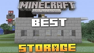 "Minecraft Xbox/PS3: Tuesday's ""Tips And Tricks"" Episode: 03 (Best Storage) TU19"