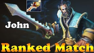Dota 2 - OnlyBrothers - John Plays Kunkka! Ranked Match Gameplay