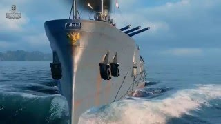 Первый российский линкор в World of Warships  «Император Николай I»