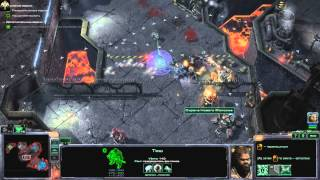 Прохождение Starcraft 2 Wings of Liberty Часть 17(А) Побег. Эксперт