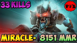 8151 MMR - Dota 2 Miracle- Plays Spirit Breaker vol #1