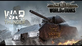 Maus VS Maus - World of Tanks Vs War Thunder