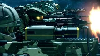 HALO 5 - Intro Cutscene of Master Chief's Blue Team | Official Xbox Game Trailers HD