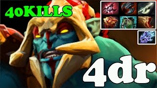 Dota 2 - 4dr 7000 MMR Plays Huskar - Pub Match Gameplay