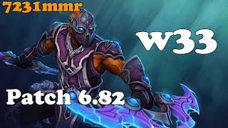 Dota 2 - w33 top 1 mmr europe plays Anti-Mage vol 1# - Ranked Match!