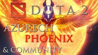 Dota 2 Gameplay - Phoenix + Community [German Let's Play HD] #90