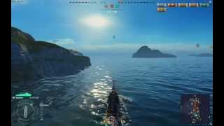 World Of Warships (ОБТ) : Первый бой