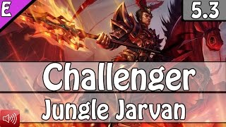 2532: TheOddOne as Jarvan IV Jungle vs Vi - S5 Ranked Challenger Gameplay
