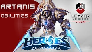 Heroes of the Storm - Artanis Gameplay (Abilities & Talents Spotlight)